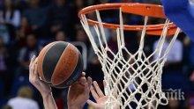 Мъжкият баскетболен тим на Левски с първа победа в груповата фаза на турнира ФИБА Европа