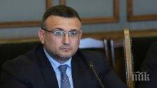 Министър Маринов: Естествено е отделни служби на МВР да подкрепят Иван Гешев за главен прокурор