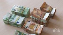 Пипнаха недекларирана валута за 140 бона в шведски бус