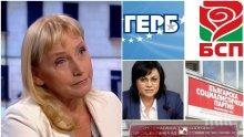 САМО В ПИК: Елена Йончева си трае в Брюксел - ни вопъл, ни стон след другарския огън от Корнелия Нинова! Клиентката на прокуратурата си взима заплатата в евро и си гледа рахата