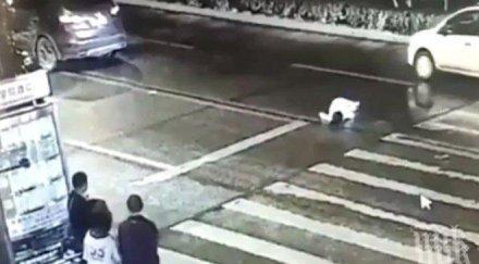 Блъснаха жена на зебра в Гоце Делчев