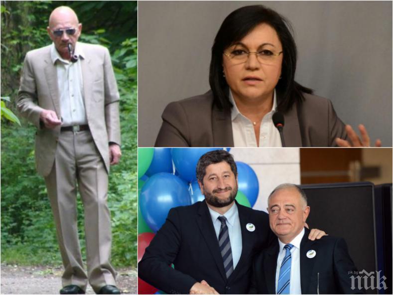 Проф. Здравко Дунов разкри: Политически бартер - 30 000 избиратели на БСП трансферирани като избиратели на ДБ