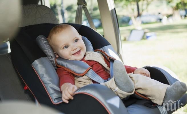 В Италия въвеждат аларми на детските седалки в колите