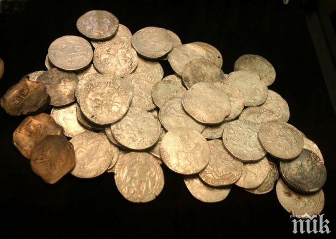 Иззеха 273 римски монети от иманяр в Гълъбово