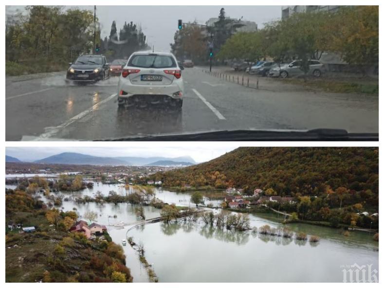 Хаос в Черна гора: Силни бури, дъждове и наводнения блокираха страната (ВИДЕО)