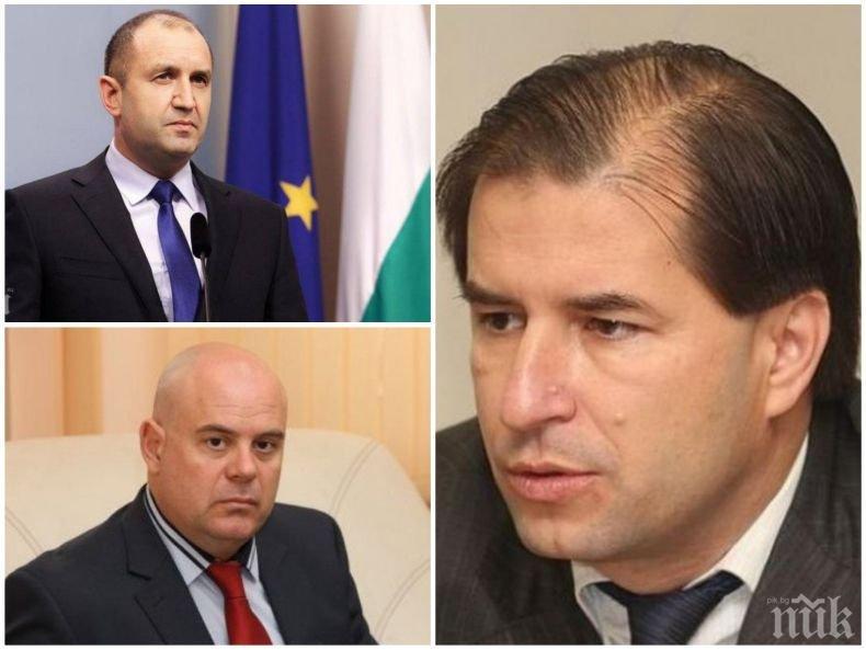 Борислав Цеков пред ПИК за ветото на Радев срещу Гешев: Политическите мотиви преобладават, почти отсъстват правните