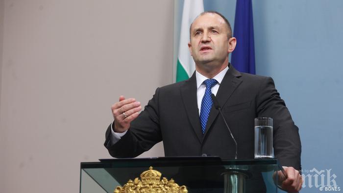 Президентът Румен Радев ще направи изявление за избора на нов главен прокурор