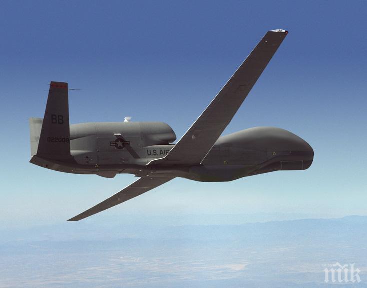 ПРОВОКАЦИЯ: Американски безпилотен самолет е прелетял над Донбас