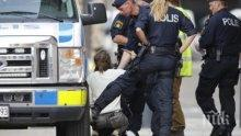 КРЪВ В ШВЕЦИЯ: Взрив и стрелба на оживен площад, има жертва и ранени