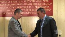 Кметът на Сливница положи клетва пред областния управител Илиан Тодоров