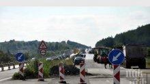 """ВАЖНО: Ремонти блокират трафика по магистрала """"Тракия"""", карайте внимателно"""