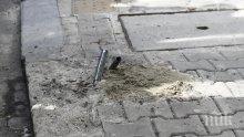 Ръждясал стълб падна в центъра на София