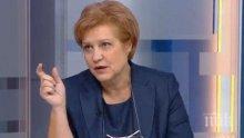 Менда Стоянова защити Горанов за вдигането на местните данъци и такси