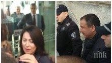 БЕЗПРЕЦЕДЕНТНО: Докараха с белезници новия стар кмет на Несебър - жена му избухна в сълзи (ВИДЕО)