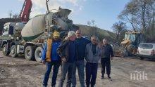 """Борисов на изненадваща проверка - ето как върви работата по изграждането на """"Хемус"""" (СНИМКИ)"""