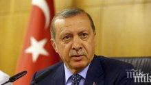 Ердоган се зарече да не спира борбата в Северна Сирия