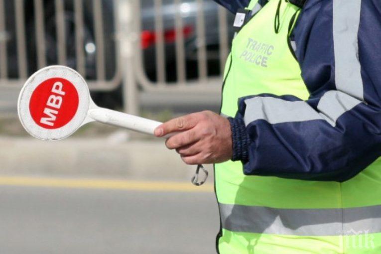 800 акта и над 400 фиша за шофьори във Врачанско за месец