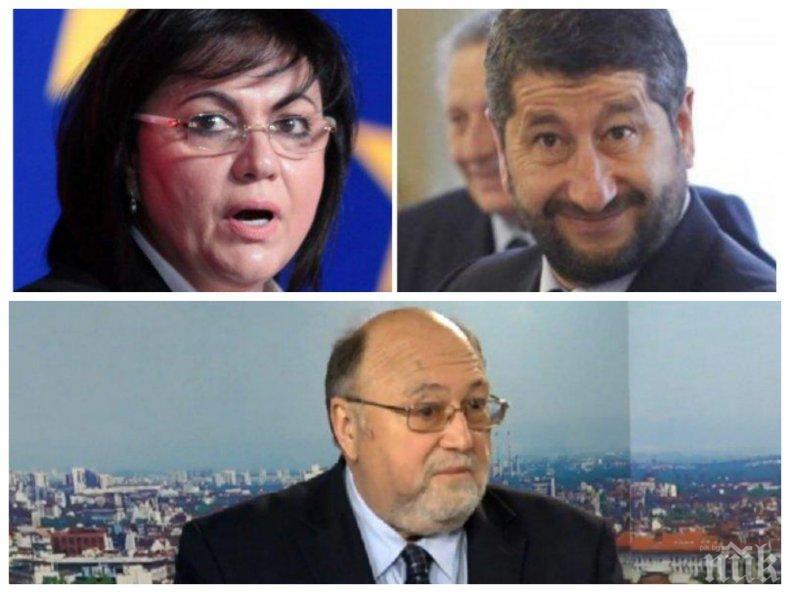 Александър Йорданов: Десните избиратели станаха жертва на изпечени измамници, работили някога за ДС и Живковия режим