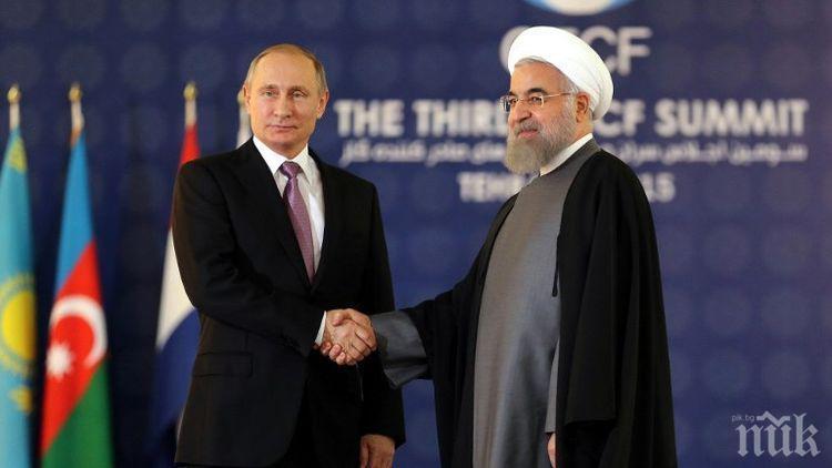 Техеран ще продължи ядреното си сътрудничество с Москва