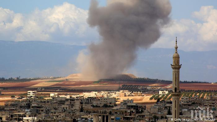 Над 60 здравни заведения са били бомбардирани в Идлиб