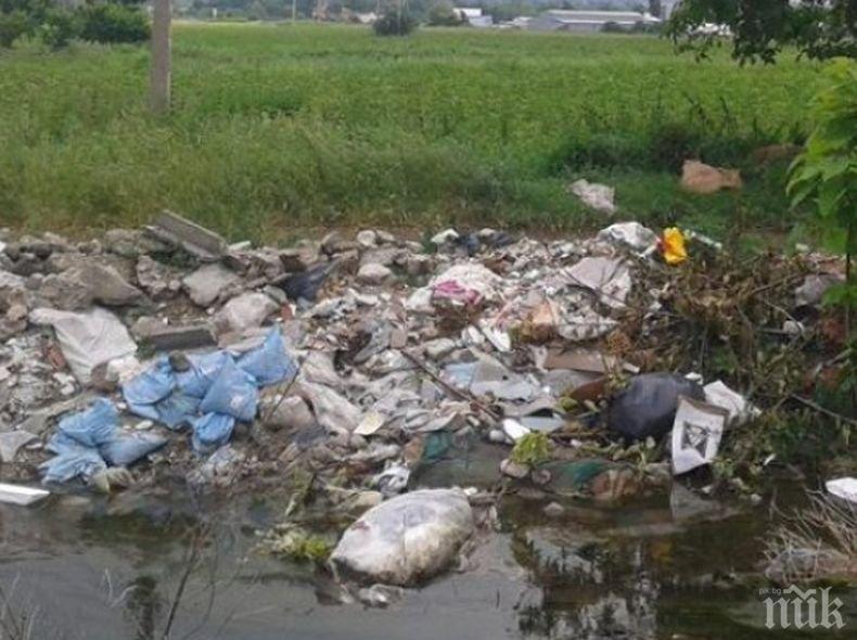 В 9 от 13-те общини в Пазарджишко има нерегламентирани сметища