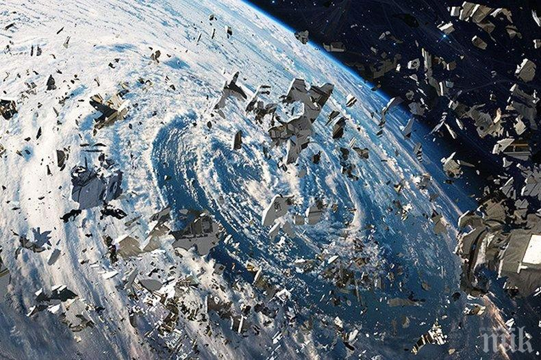 ЕКСТРАВАГАНТНА ИДЕЯ: Космическите боклуци стават... хотели и складове