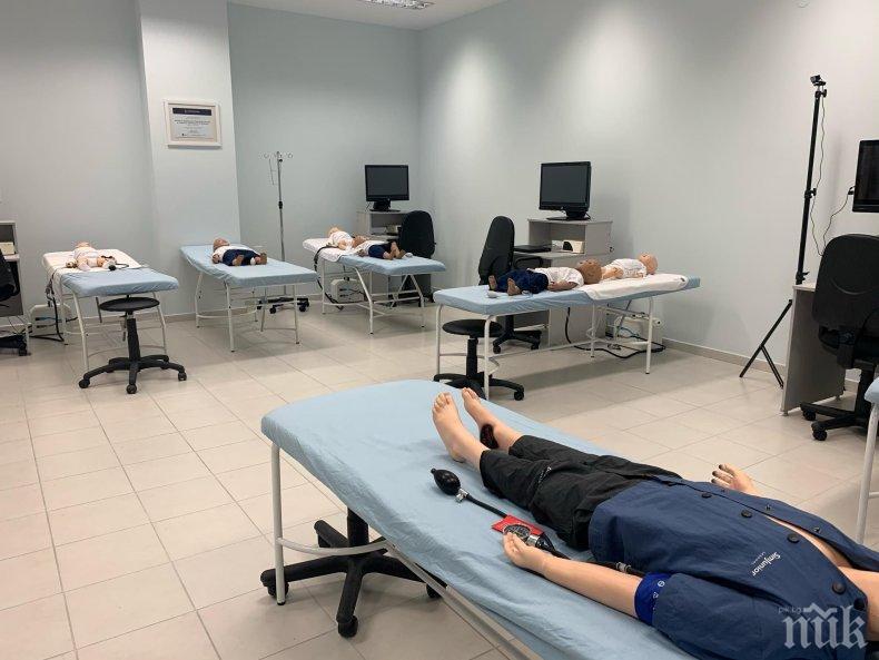 Световни специалисти демонстрират новости в Медицинския университет в Пловдив