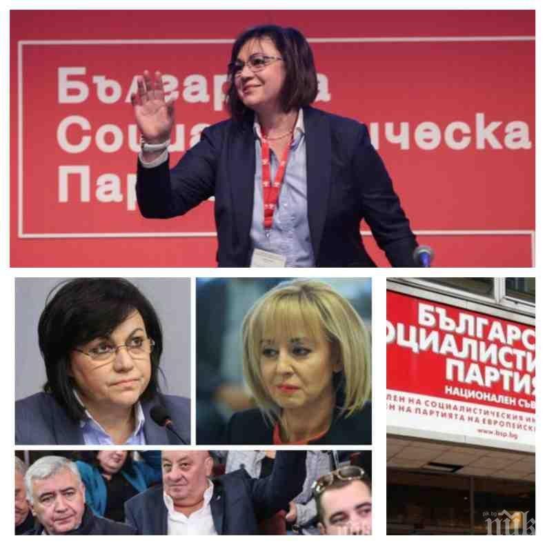 ЧЕРВЕНА ДИКТАТУРА: Корнелия Нинова иззема властта на своите в общинските съвети