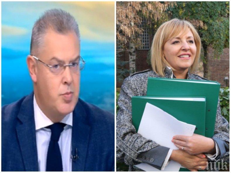 КАТЕГОРИЧЕН ОТКАЗ: ЦИК уби мераците на Мая Манолова за касиране на изборите! Ето защо това не може да се случи