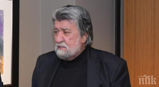 Вежди Рашидов скърби за Павел Васев