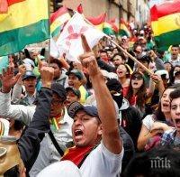 Петима загинали при сблъсъци в Боливия, Ево Моралес обмисля завръщане