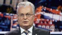Президентът на Литва помилва руски шпиони