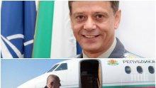 Ген. Константин Попов пред ПИК за инцидента с Фалкона: Трябва нов самолет за Отряд 28 - изпълняват важни държавни задачи и е нужна максимална сигурност