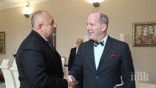 ПЪРВО В ПИК: Бойко Борисов се срещна с помощник държавния секретар на САЩ