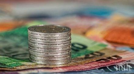 ЕВРОСТАТ: Инфлацията в еврозоната удари 3-годишно дъно