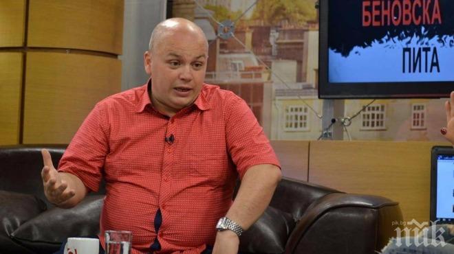 Александър Симов: Гешев е законно избран, но е обществено нелегитимен. И аз бих протестирал против него
