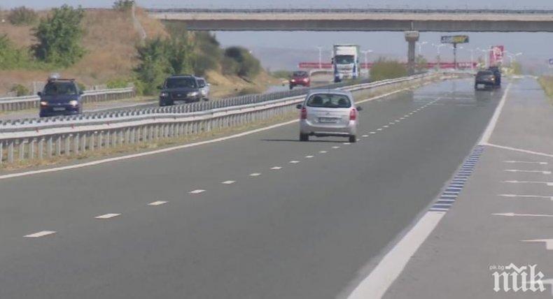 ДНЕС: Блокират трафика по магистралата преди Бургас