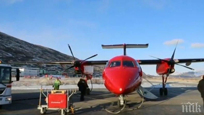 Заради климатичните промени: Затварят най-голямото летище в Гренландия