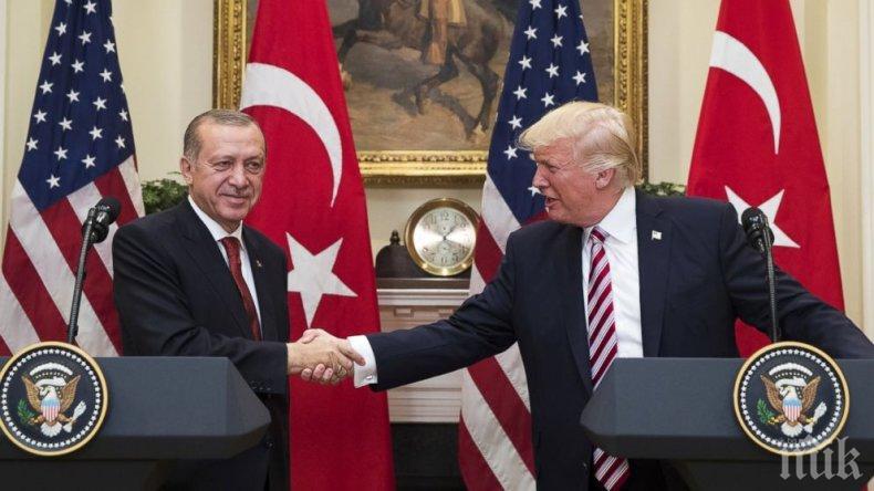 """Реджеп Ердоган заяви за готовността на Турция и САЩ заедно да унищожат """"Ислямска държава"""" в Сирия"""
