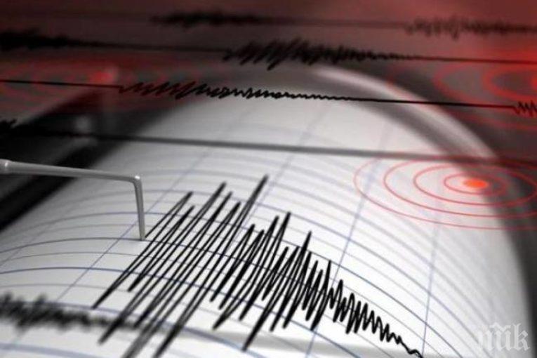 Земетресение удари Турция