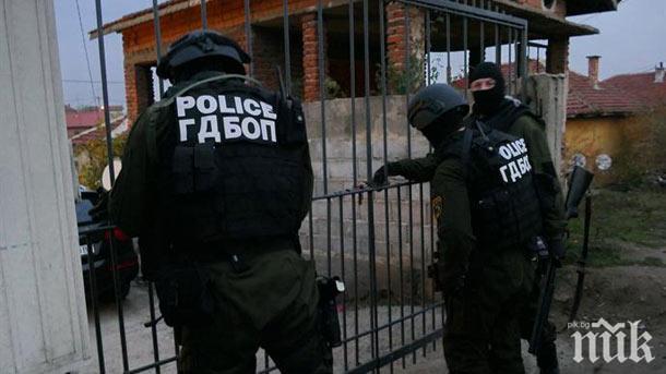 Акция на ГДБОП във Враца, има арестувани