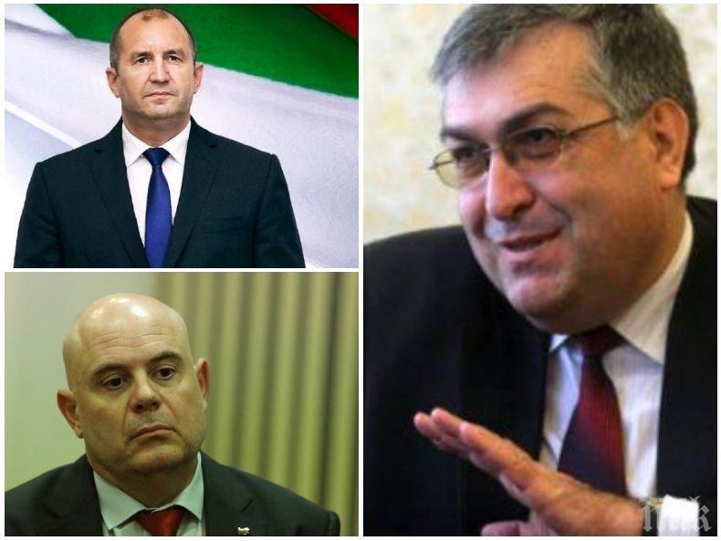 Проф. Георги Близнашки: Президентът Радев ще извърши престъпление, ако откаже да подпише указа за Иван Гешев