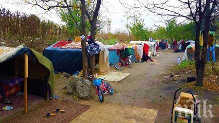 Разтуриха цигански катун в Бургас, натириха мургавите жители обратно в Сливен