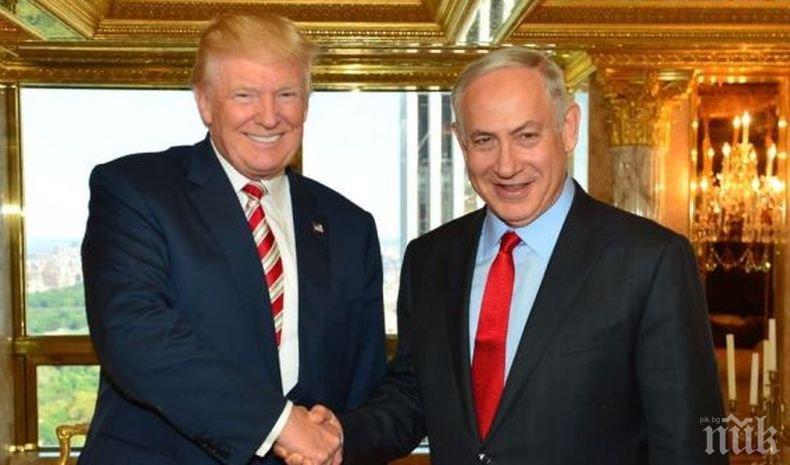 Доналд Тръмп недоволен от политическата ситуация в Израел