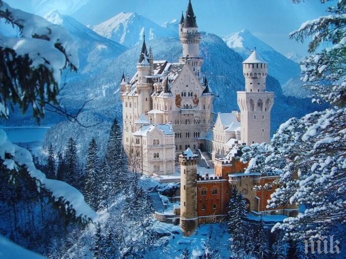 Това са петте най-красиви замъка през зимата (СНИМКИ)
