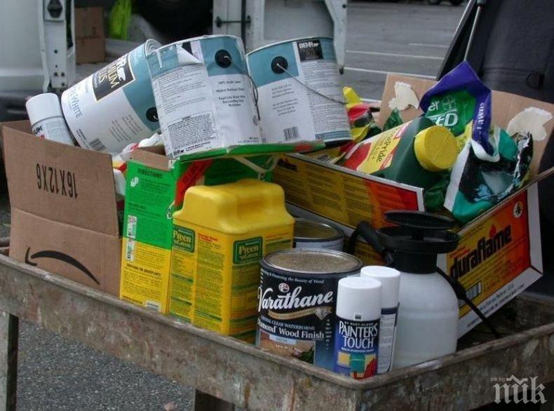 Изграждат нова система за събиране на опасни отпадъци от домакинствата