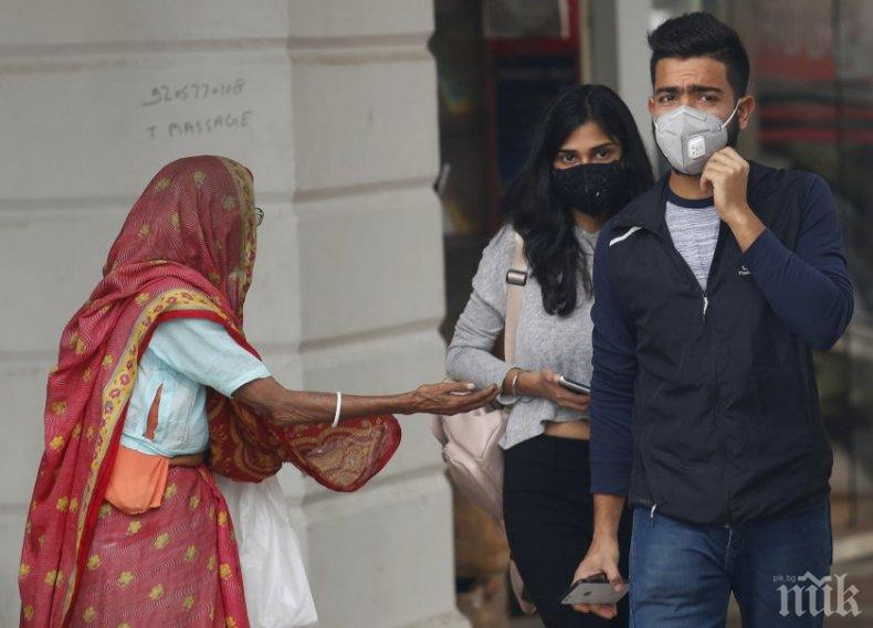 Бар предлага кислород срещу смога в Делхи