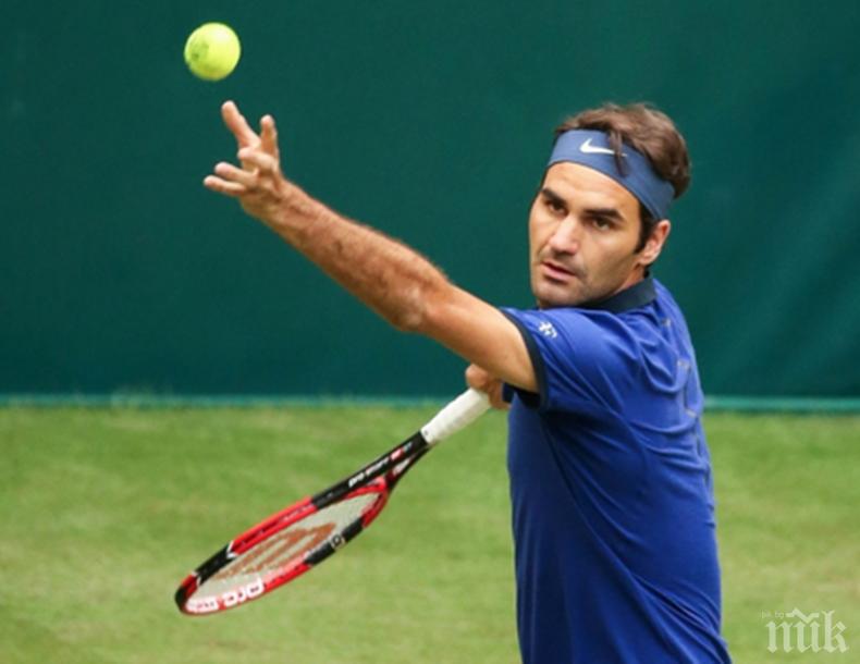 Разгром: Федерер разби Джокович за час в два сета