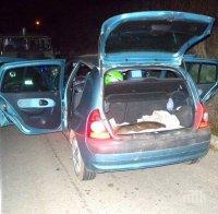 Селянин без книжка бяга от полицаи - ченгетата шашнати от намереното в багажника