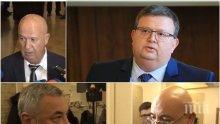 ГОРЕЩО В ПИК TV: Съперникът на Цацаров за КПКОНПИ бяга от въпроси